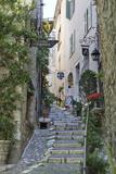 Street Scene  Saint-Paul-De-Vence  Provence-Alpes-Cote D'Azur  Provence  France  Europe