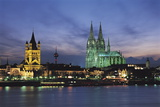 Cologne Skyline  Germany