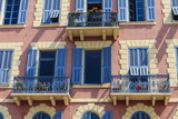 Old Town Architecture  Nice  Alpes Maritimes  Provence  Cote D'Azur  French Riviera  France  Europe