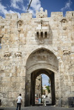 The Lions Gate in the Old City  UNESCO World Heritage Site  Jerusalem  Israel  Middle East
