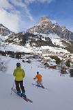 Corvara Village in the Sella Ronda Ski Area