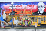 Mural by Chico in Ybor City Historic District