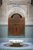The Ornate Interior of Madersa Bou Inania
