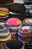 Colourful Kipas  Jerusalem  Israel  Middle East
