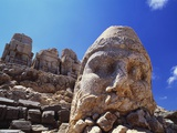 Ancient Stone Sculpture  Nemrut Dag  Turkey