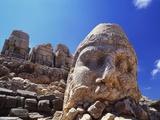 Ancient Stone Sculpture  Nemrut Dag  Turkey