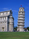 Leaning Tower of Pisa and the Duomo  Pisa  Tuscany  Italy