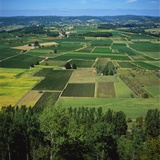 Rural Landscape  Dordogne  Aquitaine  France
