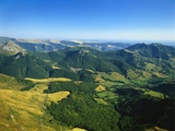 Massif Central  Auvergne Volcanoes National Park  France