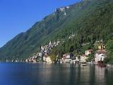 Lake Lugano  Lombardy  Italy
