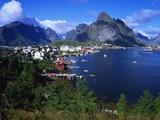 Reine Town  Moskenesoy  Lofoten  Norway