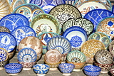 Earthenware Plates and Dishes from Fez
