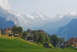 Wengen  Bernese Oberland  Swiss Alps  Switzerland  Europe