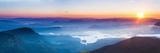 Adams Peak (Sri Pada) View at Sunrise