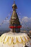 Swayambhunath Temple  Kathmandu  Nepal