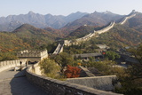 Autumn Colours and a Watch Tower on the Great Wall of China