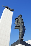 Statue of General Dr Milan Rastislav Stefanik  Bratislava  Slovakia  Europe