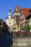 Rothenburg Ob Der Tauber  Germany  Europe
