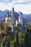 Neuschwanstein Castle, Allgau, Germany Papier Photo par Hans Peter Merten