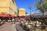 Open Air Restaurants in Cours Saleya