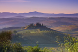 Iconic Tuscan Farmhouse  Val D' Orcia  UNESCO World Heritage Site  Tuscany  Italy  Europe