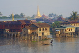Nampan Village  Inle Lake  Shan State  Myanmar (Burma)  Asia