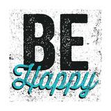Be Happy Giclée premium par Michael Mullan