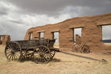Old Wagons  Fort Union National Monument  New Mexico  United States of America  North America