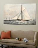 Cutter Yacht - 1854