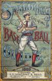 Spaulding's Baseball Guide Vintage Vintage Wood Sign