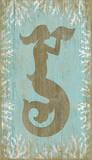 Mermaid Wood Sign
