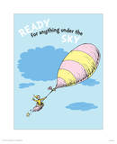 Ready for Anything (blue) Reproduction d'art par Theodor (Dr. Seuss) Geisel