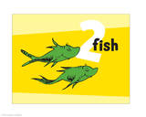 One Fish Two Fish Collection II - Two Fish (yellow)