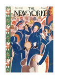 The New Yorker Cover - December 14  1929