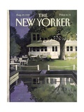 The New Yorker Cover - August 29  1988