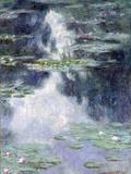 Pond with Water Lilies Giclée par Claude Monet