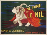 Le Nil Rolling Paper Vintage Advertising Poster Giclée