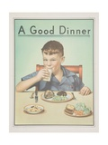 A Good Dinner Poster