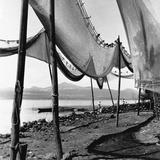 Drying Fishing Nets in Janitzio