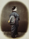 Portrait of a Japanese Woman