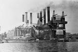 New York Edision Company Power Plant