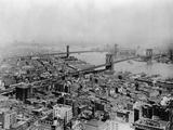 Brooklyn and Bridges over East River