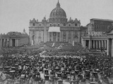 Papal Benediction at St Peter's Basilica