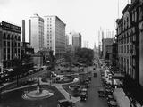 Washington Boulevard  Detroit  1920