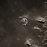 Command Module Above the Moon