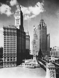 Chicago Skyscrapers Papier Photo