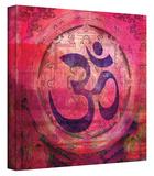 Om Mandala gallery-wrapped canvas