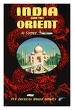 India and the Orient by Clipper - Pan American World Airways (PAA)