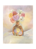 Vase of Mums