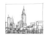Wire Frame Cityscape II